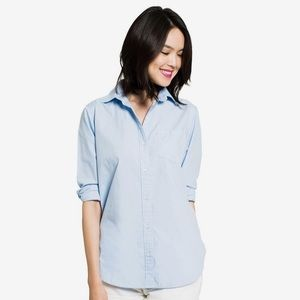 French Poplin Boyfriend Shirt